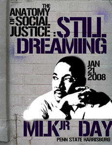 2008 MLK, Jr. Day Poster Design winner