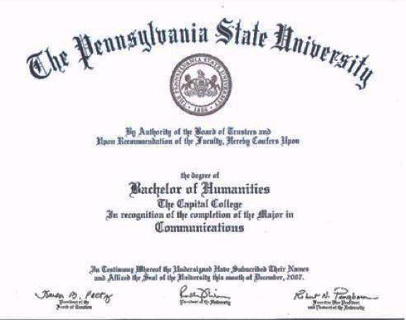Cap Diploma Png Penn State Harrisburg