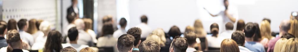 A seminar or workshop scene