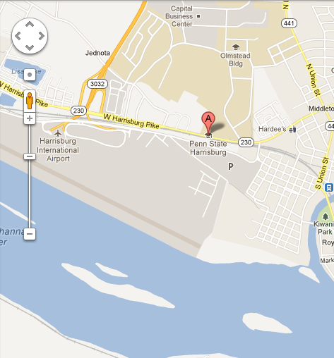 Susquehanna Campus Map.Directions To Campus Penn State Harrisburg