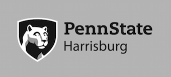 PSU Harrisburg Black light background