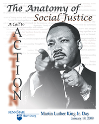 2009 MLK, Jr. Day Poster Design winner