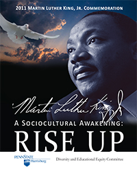 2011 MLK, Jr. Day Poster Design winner