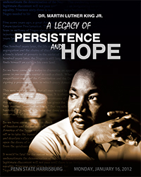 2012 MLK, Jr. Day Poster Design winner