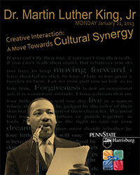 2013 MLK, Jr. Day Poster Design winner