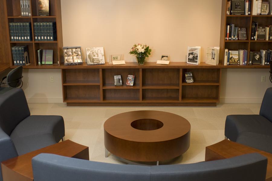 Schwab Family Reading Room