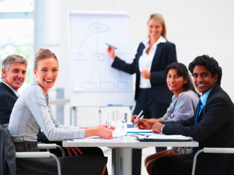 Corporate training session