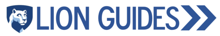 Lion Guides Logo