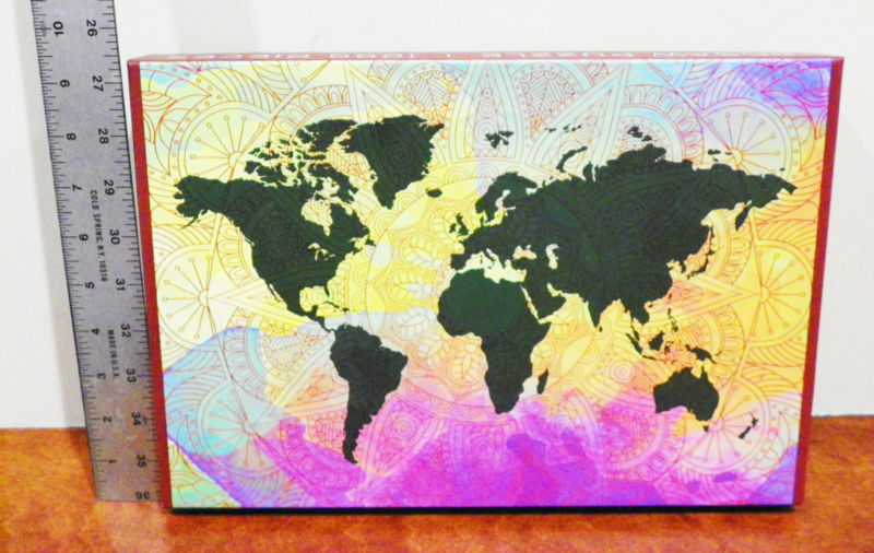 1000 Piece World Map Puzzle