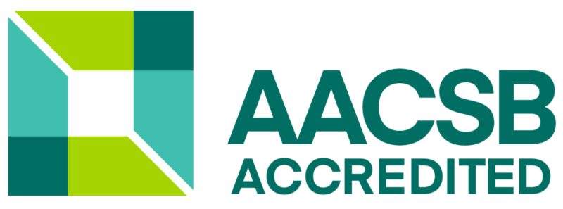 School of Business Administration is accredited by AACSB (Association to Advance Collegiate Schools of Business)
