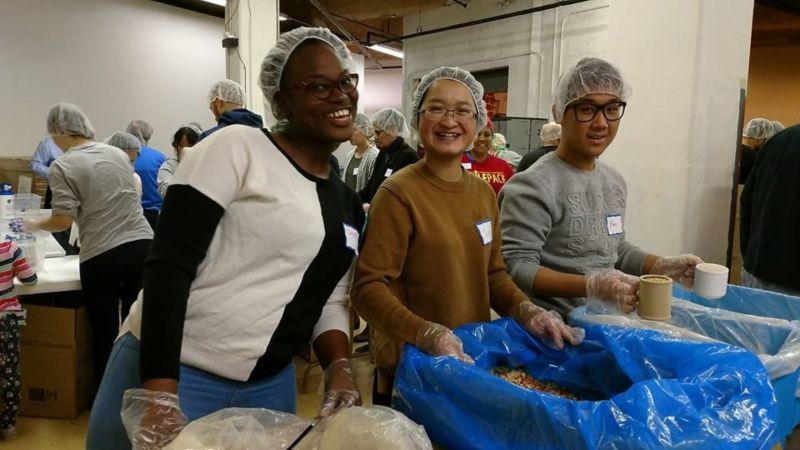 Feed My Starving Children: Volunteer Food Packing - March 2017