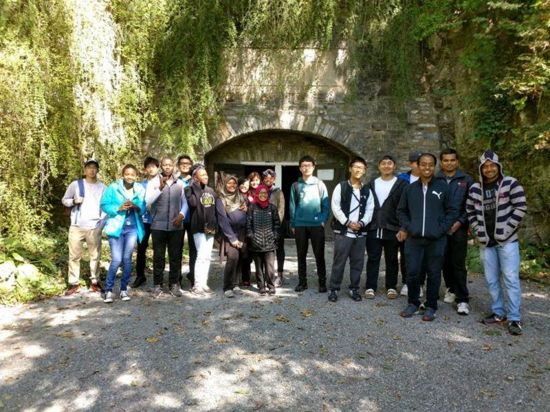 Indian Echo caverns – October 2017