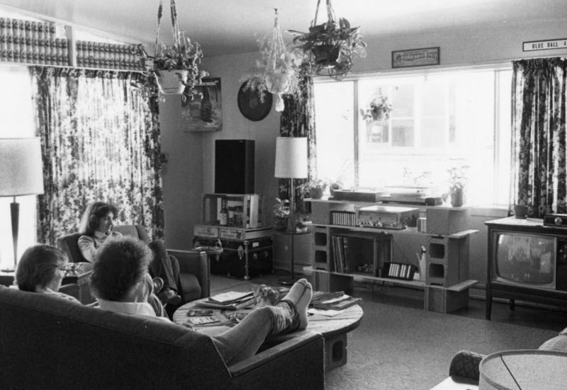 Meade Heights Interior 1970s