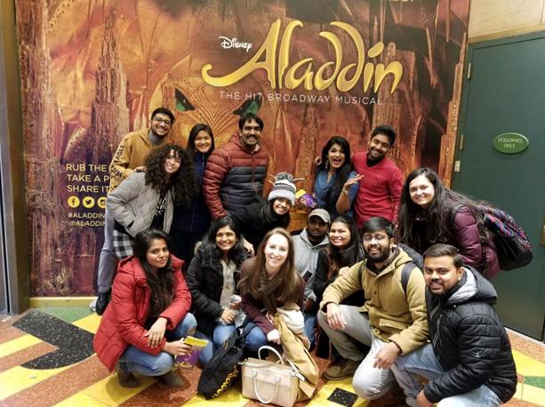 NYC Aladdin on Broadway - November 2018