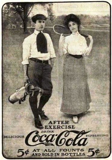 Old Coca Cola Ad from 1905
