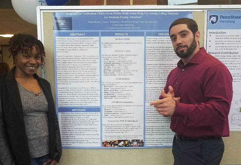 Psychology students Represent at Research Week Student Symposium!