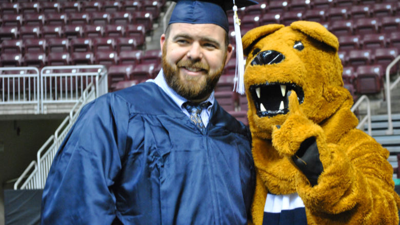 graduate and lion