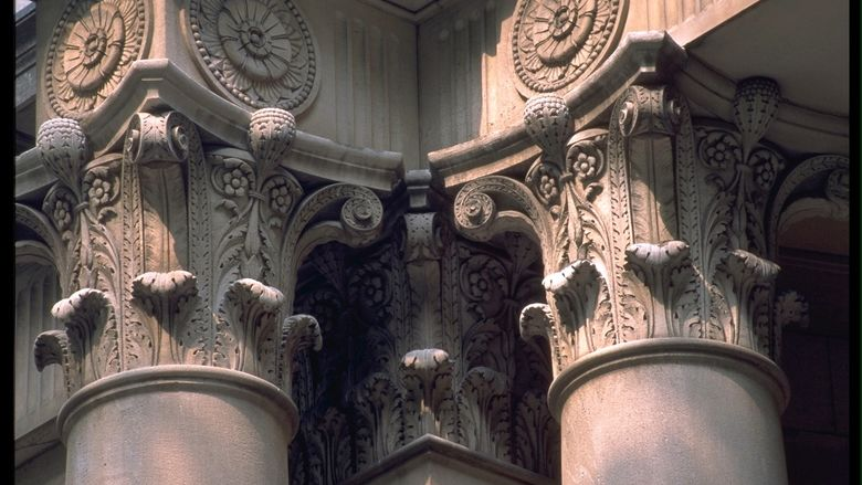 Columns of Old Main