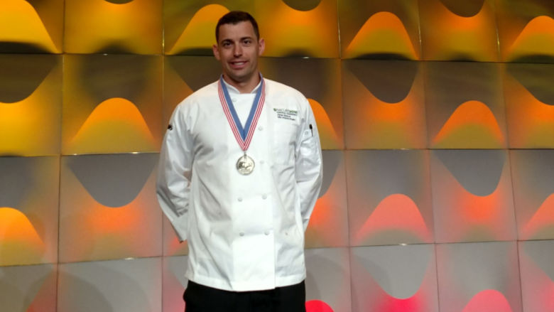 Athan Spanos, executive chef at Penn State Harrisburg