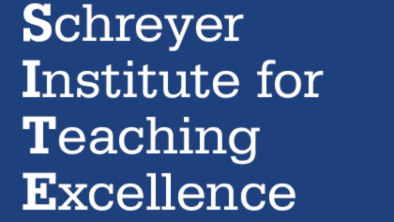 Graphic reading Schreyer Institute for Teaching Excellence