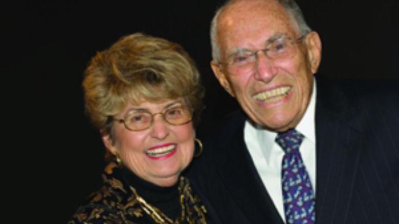Morris and Linda Schwab