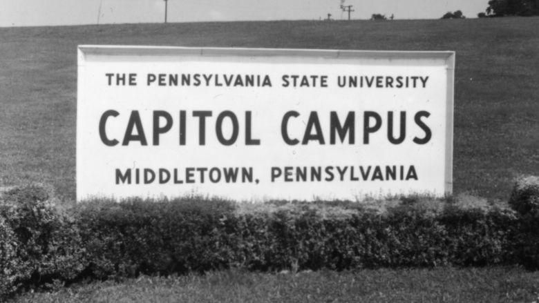 Capitol Campus Sign