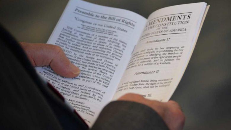 holding pocket Constitution