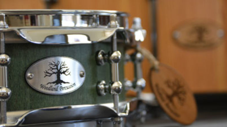 Allan Fausnaught's handmade drums