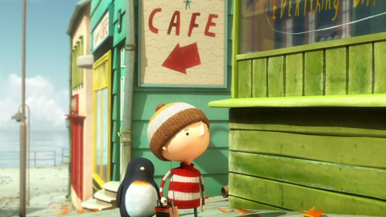 """Lost and Found,"" one of the animated films to be presented during the college's International Film Festival's Kid Flix Mix"