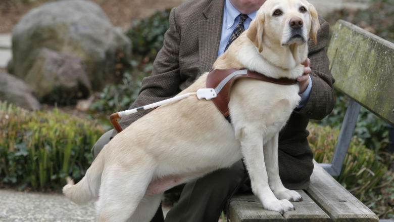 Michael Hingson (photo by Guide Dogs for the Blind, San Rafael, Calif.)