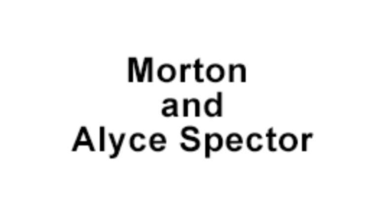 Morton and Alyce Spector