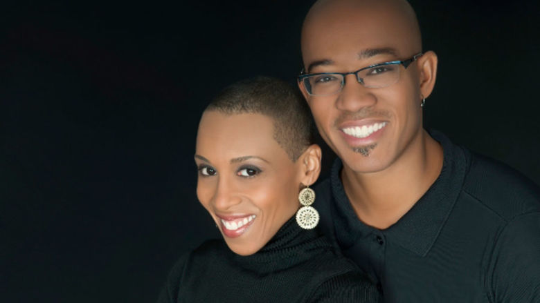 Andrea Davis and Brian Pinkney