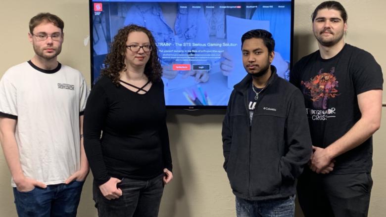 University Teams engaging the SimulTrain® simulation