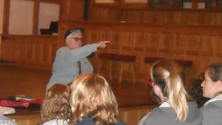 Dr. Margaret Jaster at The American Shakespeare Center