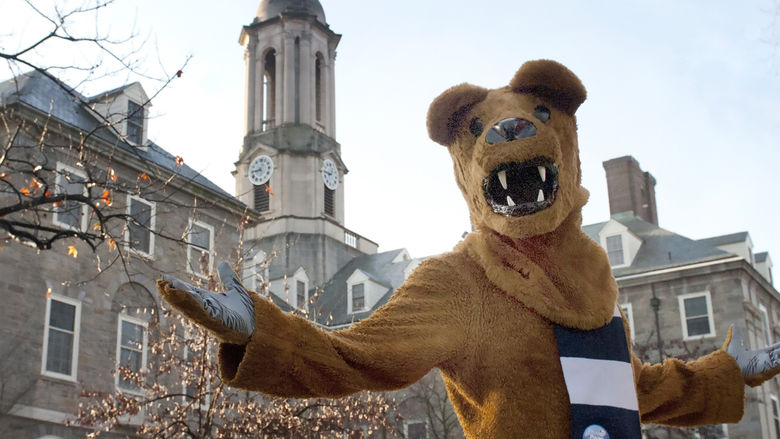 Nittany Lion at Old Main