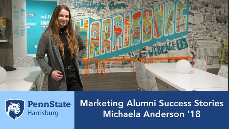 Marketing Alumni Success Stories: Michaela Anderson '18