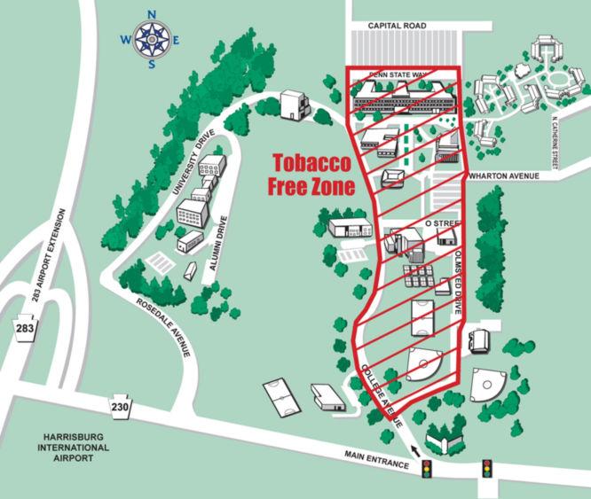 Tobacco Free Zone Established On Campus Penn State Harrisburg