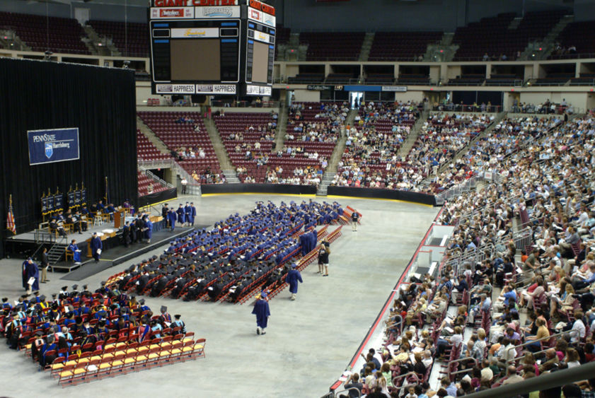 Harrisburg commencement ceremony
