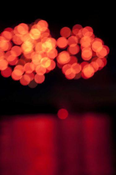 """""""Fireworks, Lubec, Maine,"""" by Samuel Winch"""