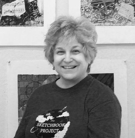 Linda Dubin Garfield, artist