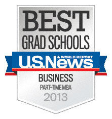 U.S. News & World Report 2013 Ranking for MBA
