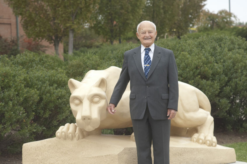 Russell E. Horn Sr., a 1933 Penn State graduate in engineering