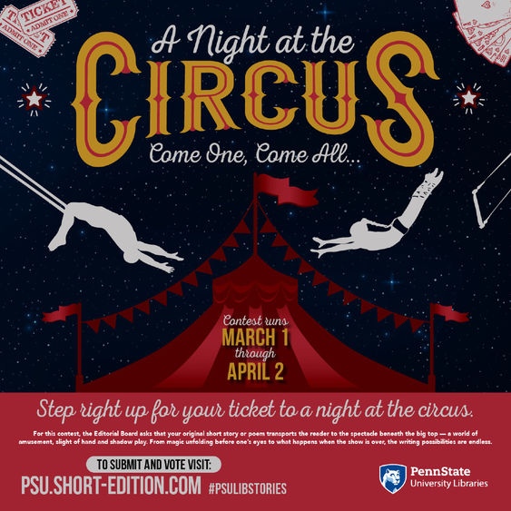 A Night at the Circus, contest graphic