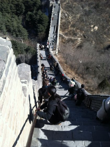 The Great Wall of China, by Brandon Rogers