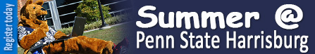 Summer Courses at Penn State Harrisburg